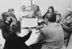 Meeting of the CIFHS Research Committee discussing parish ancient registers - October 1988